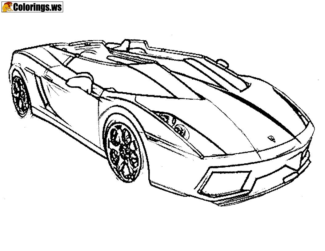 Super Car Mclaren F1 Lm Coloring Page Cool Car Printable Free Sports Coloring Pages Cars Coloring Pages Race Car Coloring Pages