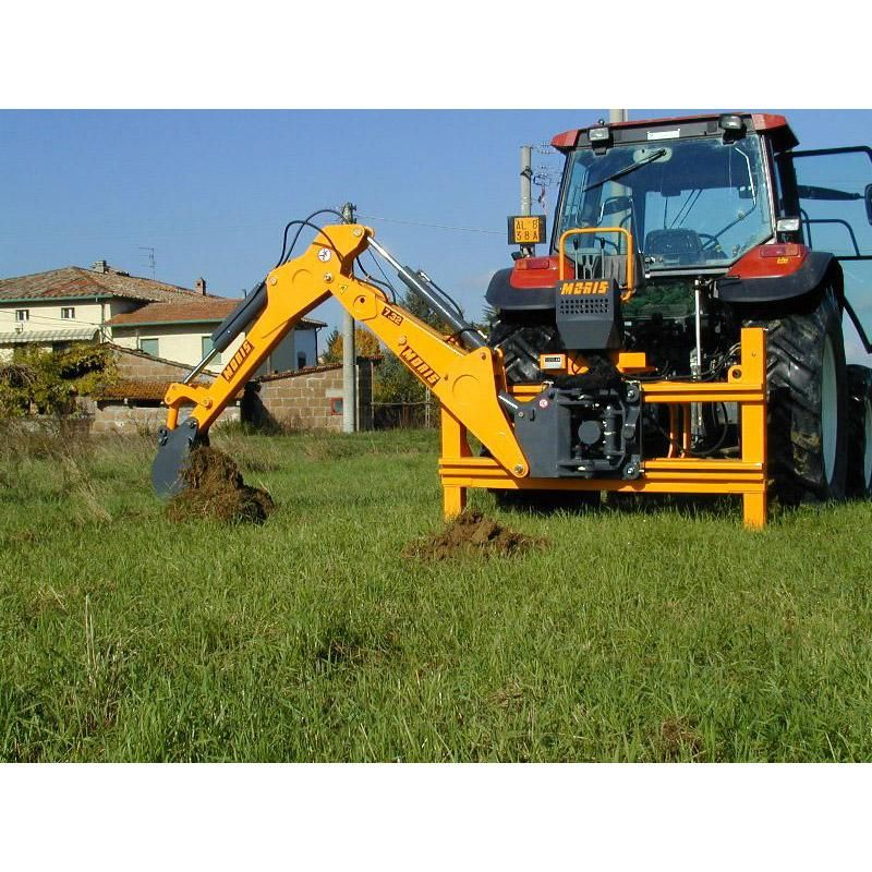 Moris series 7 backhoe available from approved hydraulics