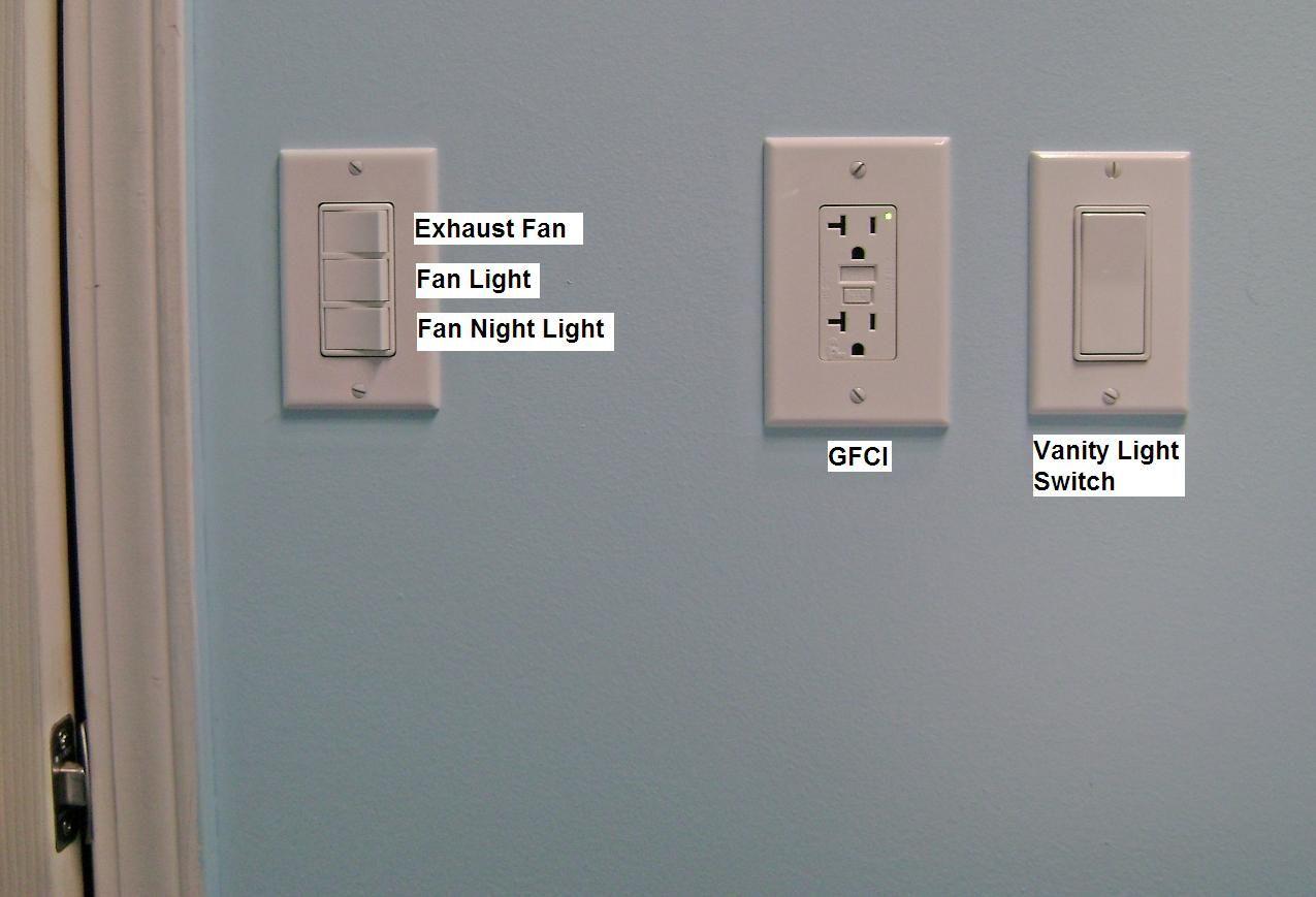 Image Result For Bathroom Light Switch