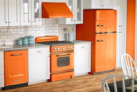 Retro Kühlschrank Big Chill : Retro stil geräte trend