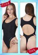 a951c71c80f Dani Sports Thong Swimsuit / Leotard available in black or red ...