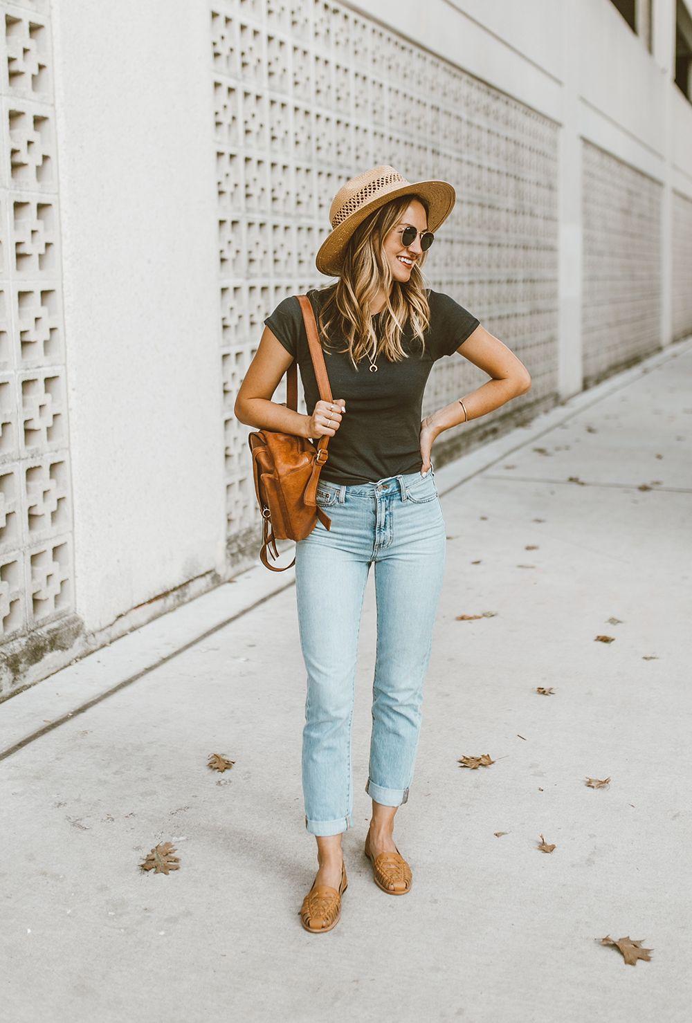 f86fa56873b livvyland-blog-olivia-watson-austin-texas-fashion-style-blog -nisolo-ecuador-huarche-sandals-almond-tee-jeans-outfit-1