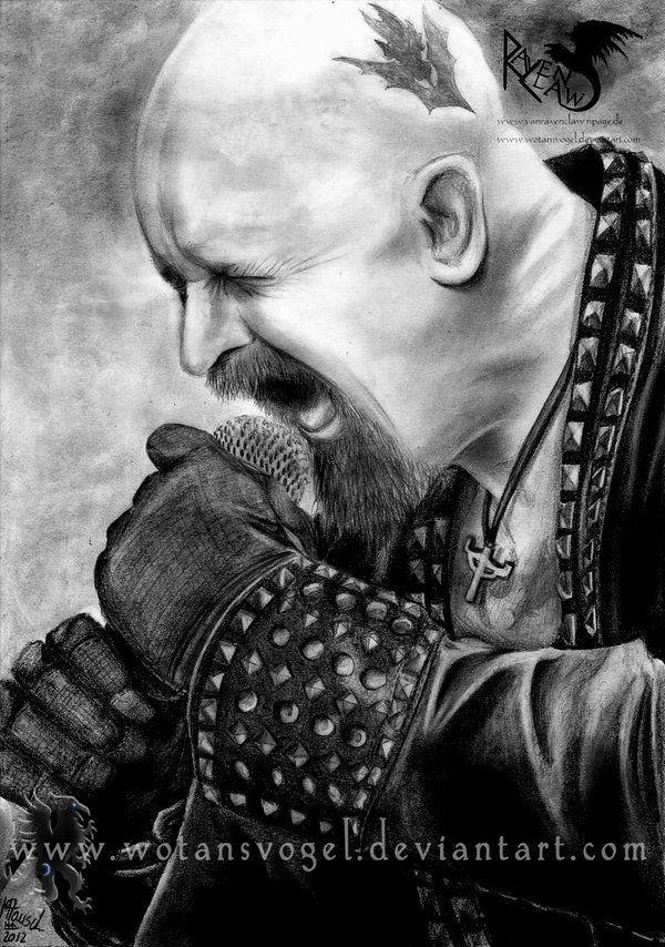 Heavy Metal Art Cartoon Comic Drawing Heavy Metal Art Judas Priest Music Artwork