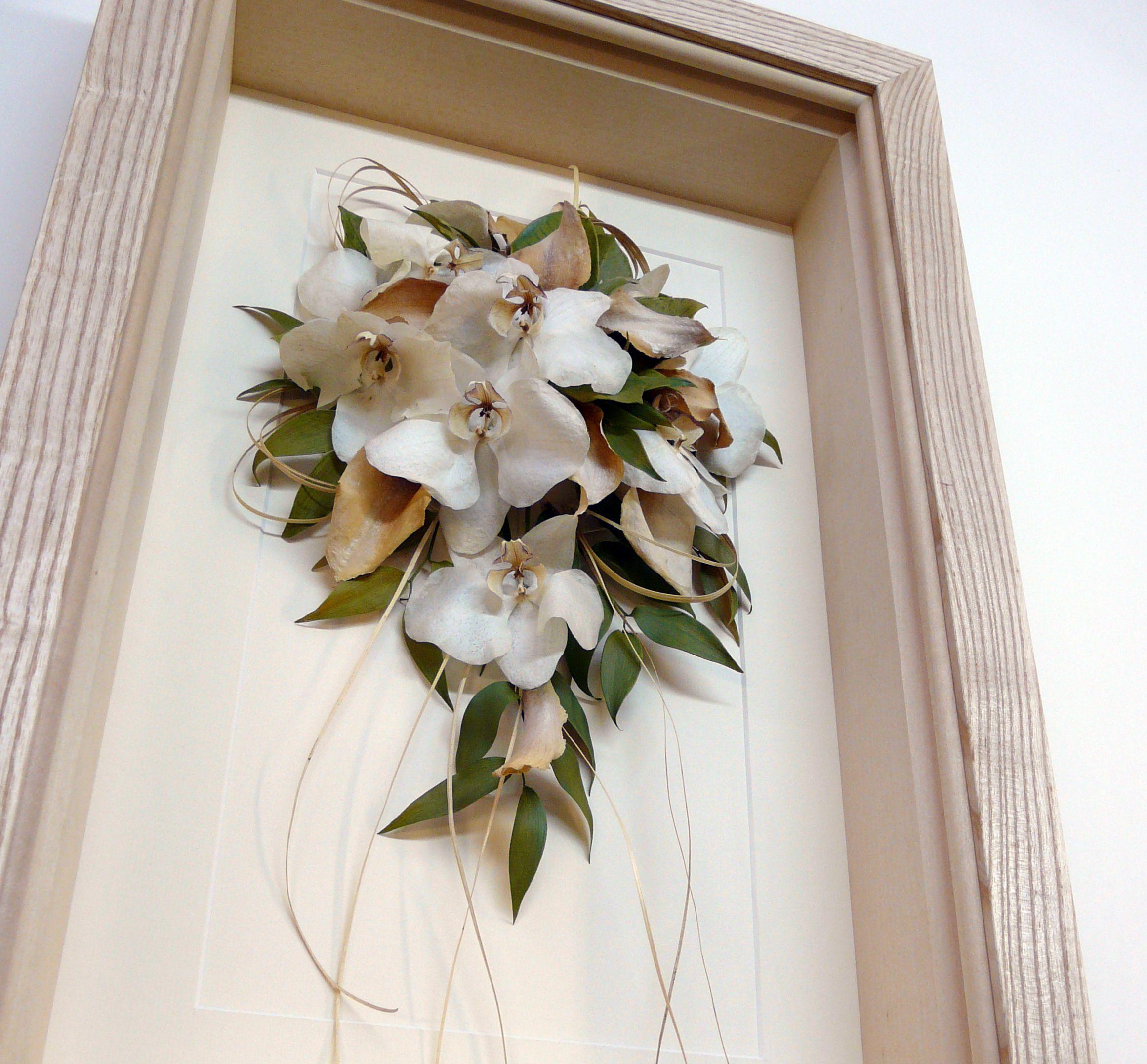 Framing And Preserving A Wedding Bouquet Simon Robinson Son