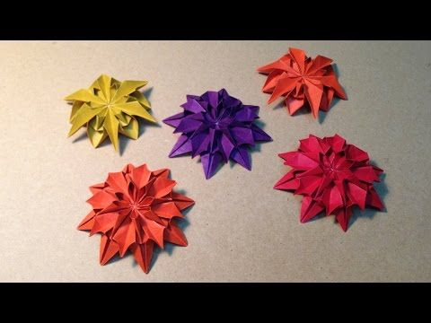 折り紙 ハス の 花