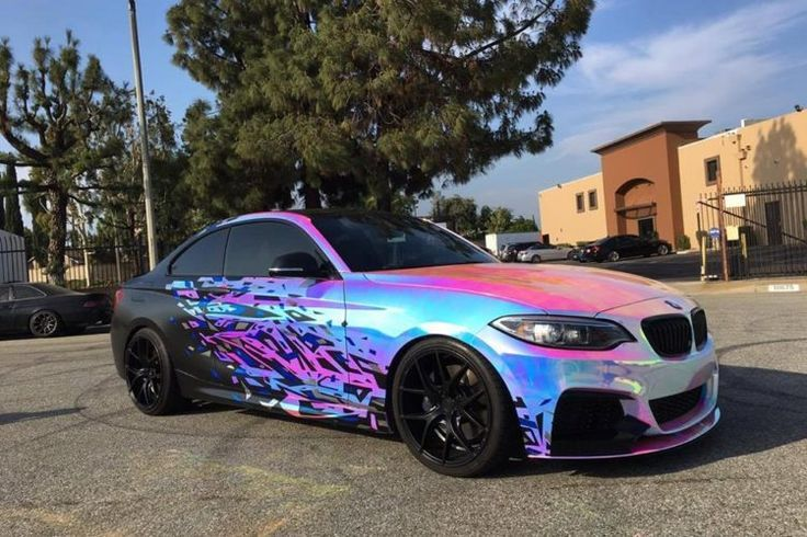 Cool BMW M235i Getting A Rainbow Chrome Wrap Bmw Check More At Autoboardpro 2017 03 08