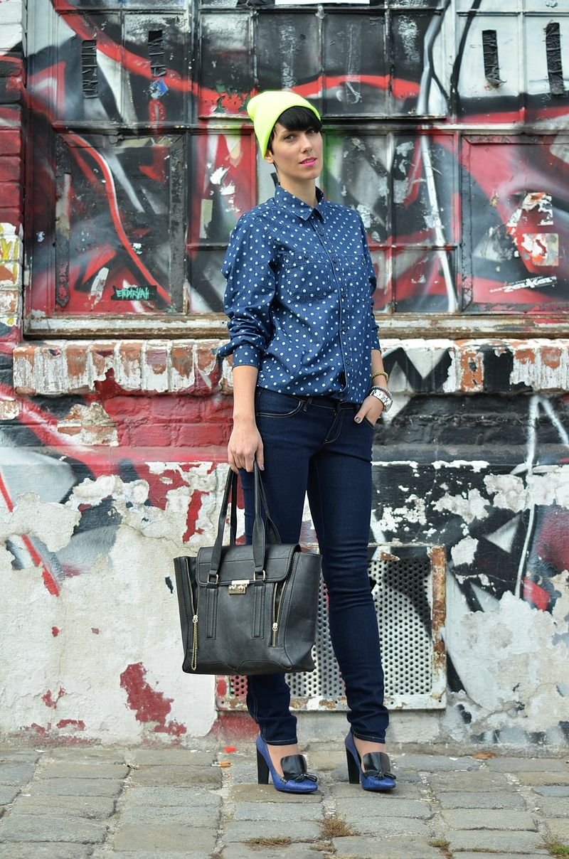 #fashion #fashionista Borjana blu bianco jeans Beeswonderland: Take me home