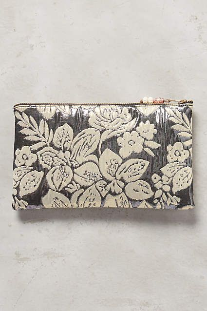 Tuileries Brocade Pouch - anthropologie.com