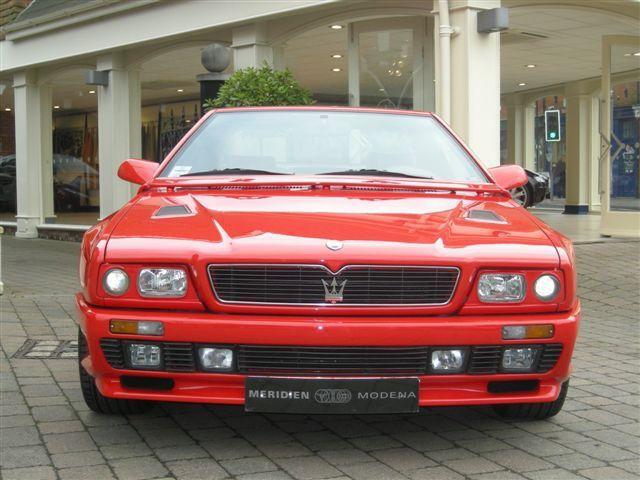 1990-1996 The Maserati Shamal   Maserati, Classic cars ...