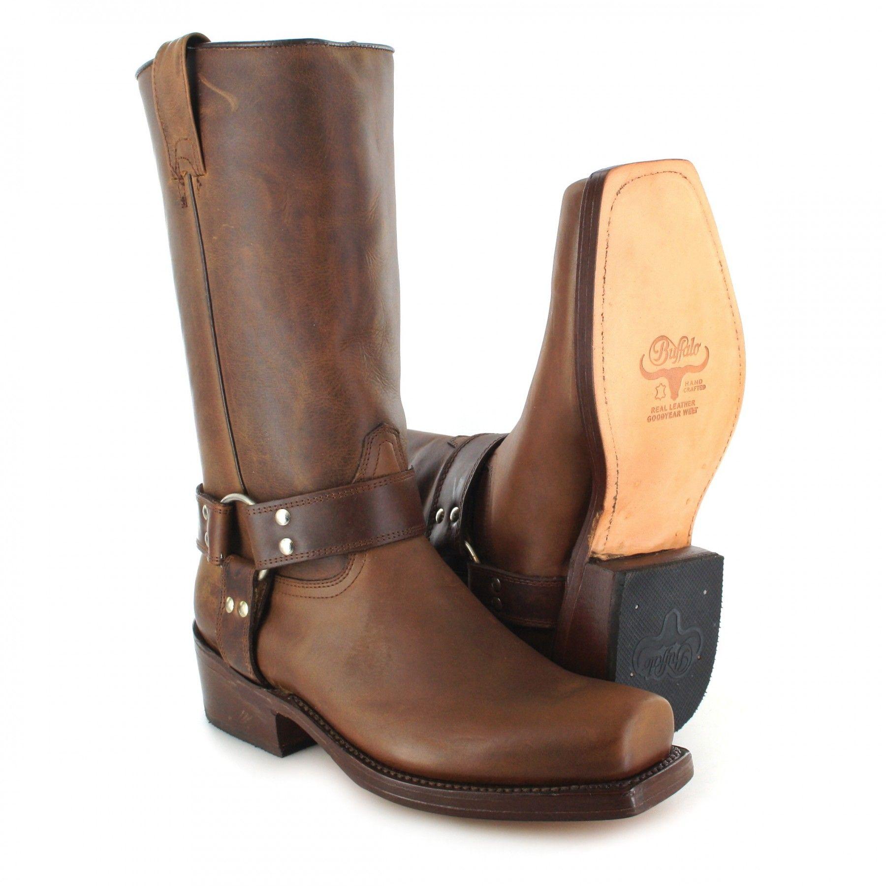sale retailer 77eae 90bce Buffalo Boots 1801 Bikerstiefel - braun | Klassischer Damen ...