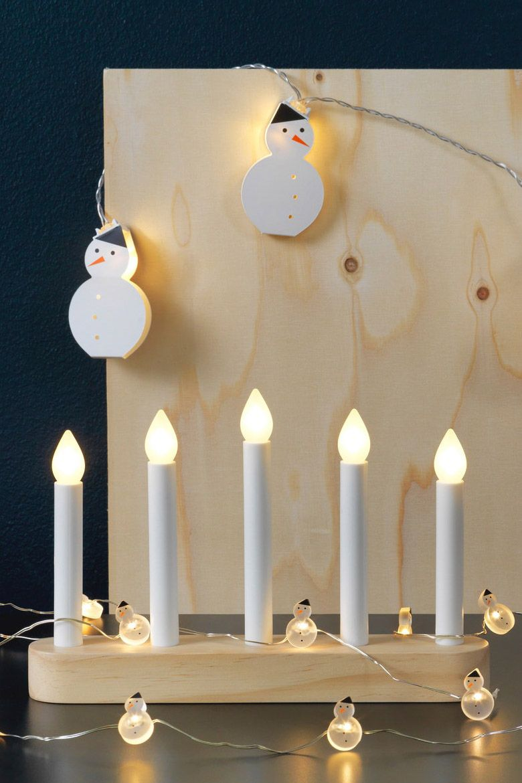 Festliche Stimmung im Raum - STRÅLA LED Kerzenständer  #weihnachtsdeko2019trend