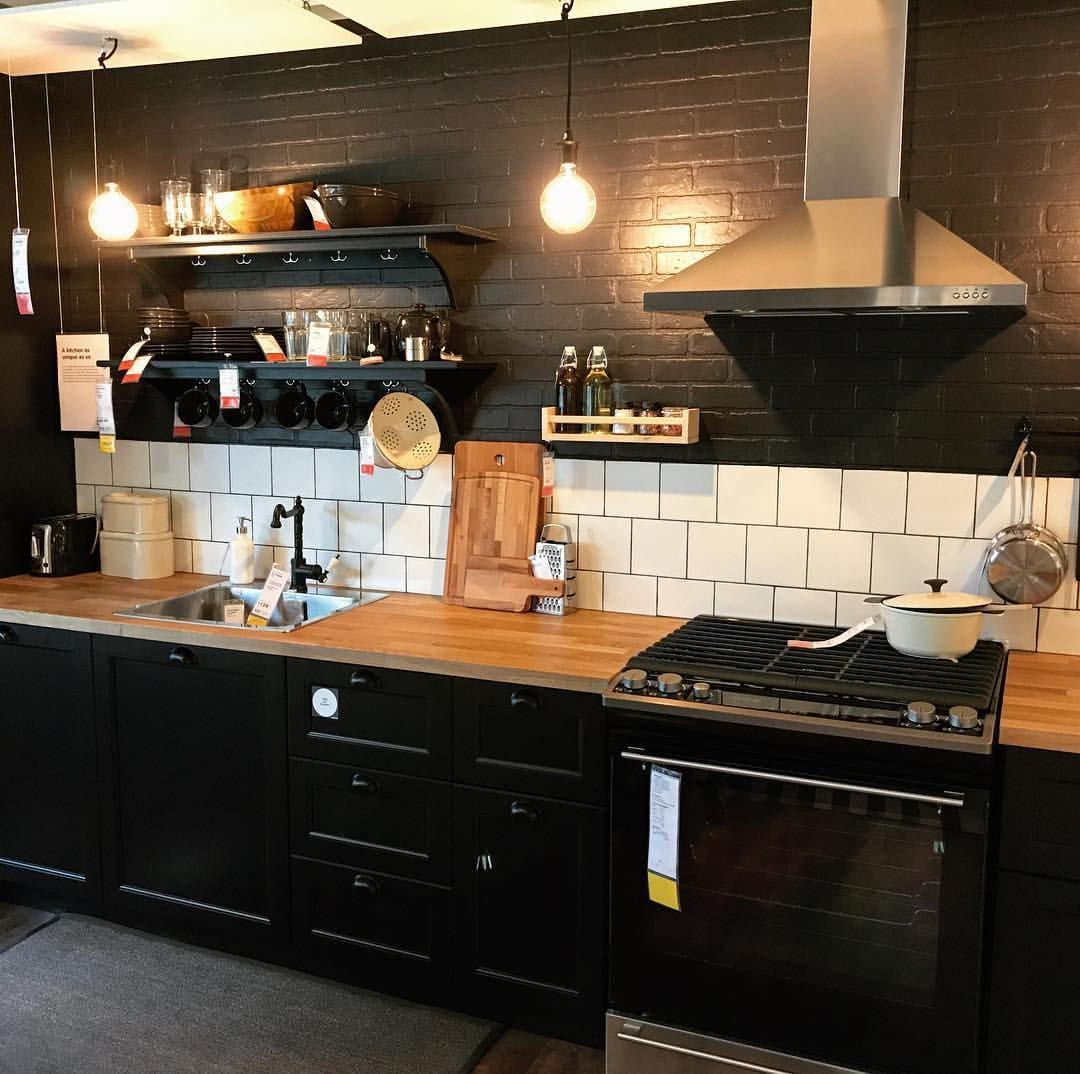 Ikea Kitchen Galley: IKEA Kitchen (showroom)