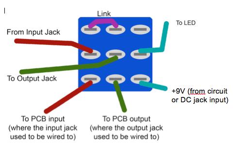 True bypass wiring | Diy guitar pedal, Guitar pedals, Circuit bending | True Byp Wiring Diagram |  | Pinterest