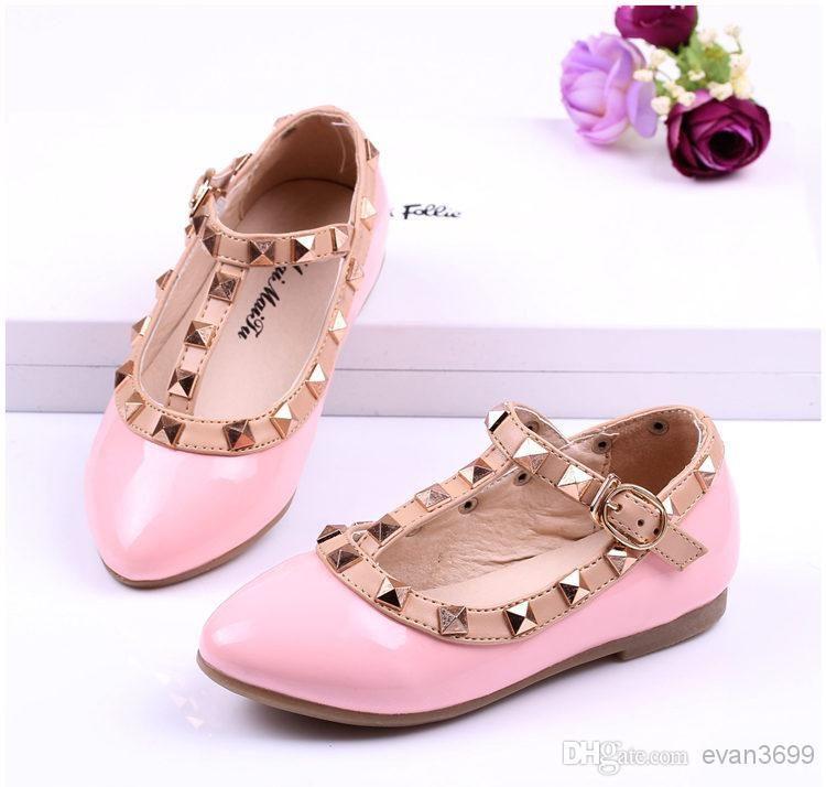 Children Valentino Shoes for Girl Rivet