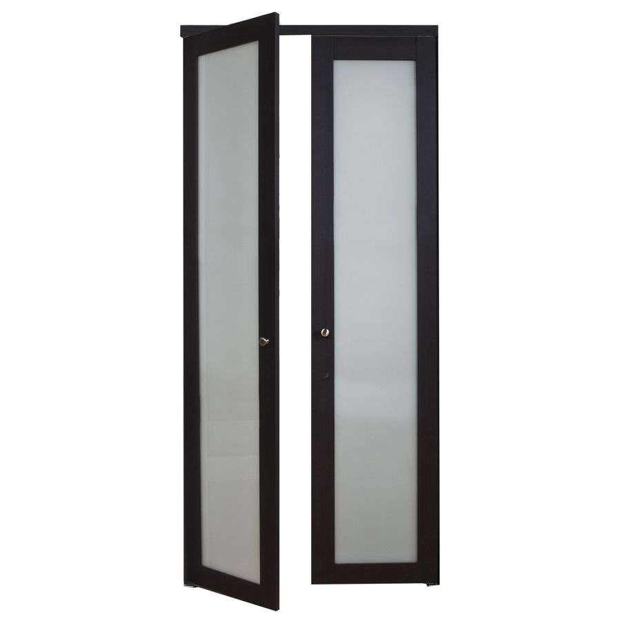 Reliabilt Frosted Glass Mdf Pivot Interior Door With Hardware