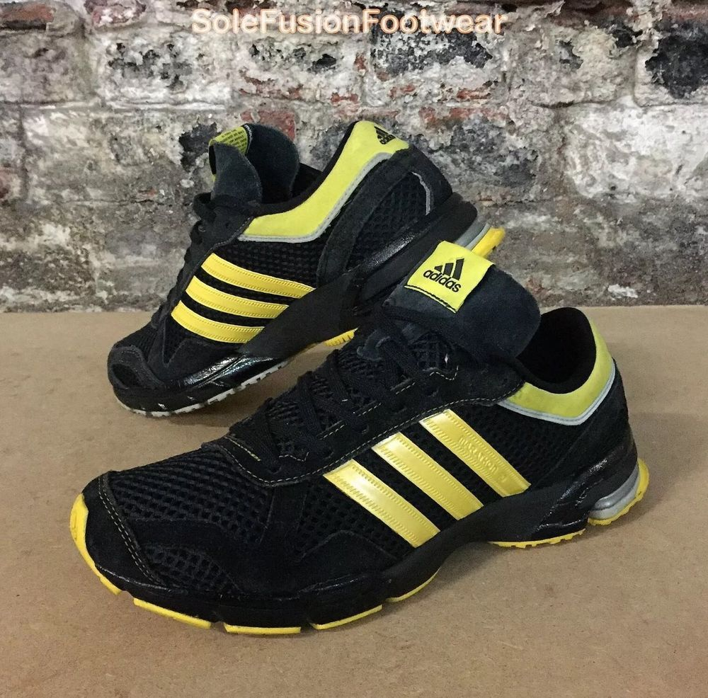 Black · adidas Mens Marathon 10 Running Trainers ...
