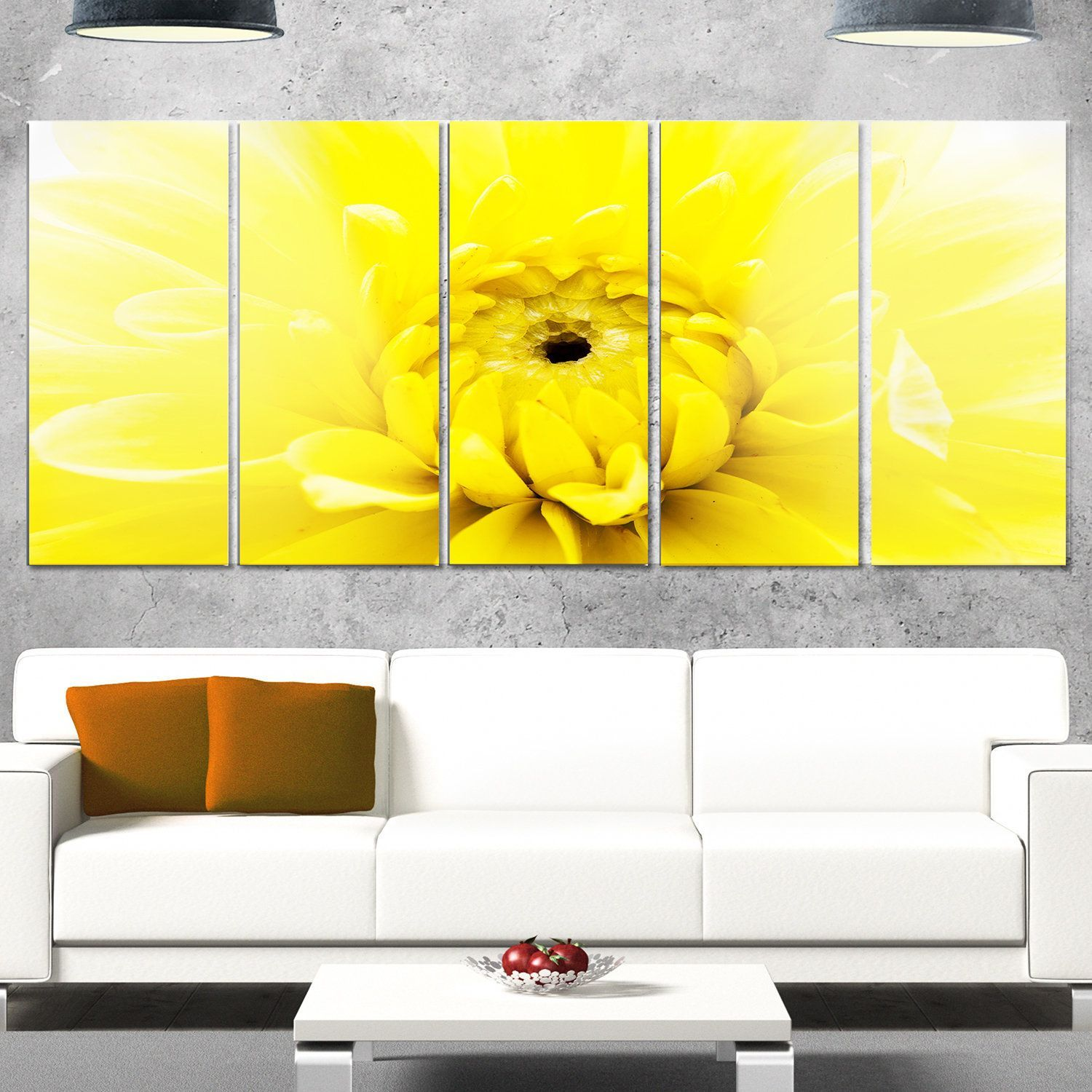 Delighted Chrysanthemum Wall Art Contemporary - The Wall Art ...