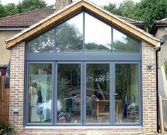 Gable End Glazed Extension Google Search Kitchen