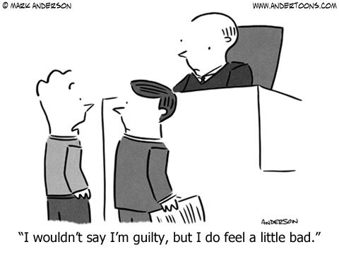 Guilt And Innocence Legal Humor Lawyer Humor Attorney Jokes