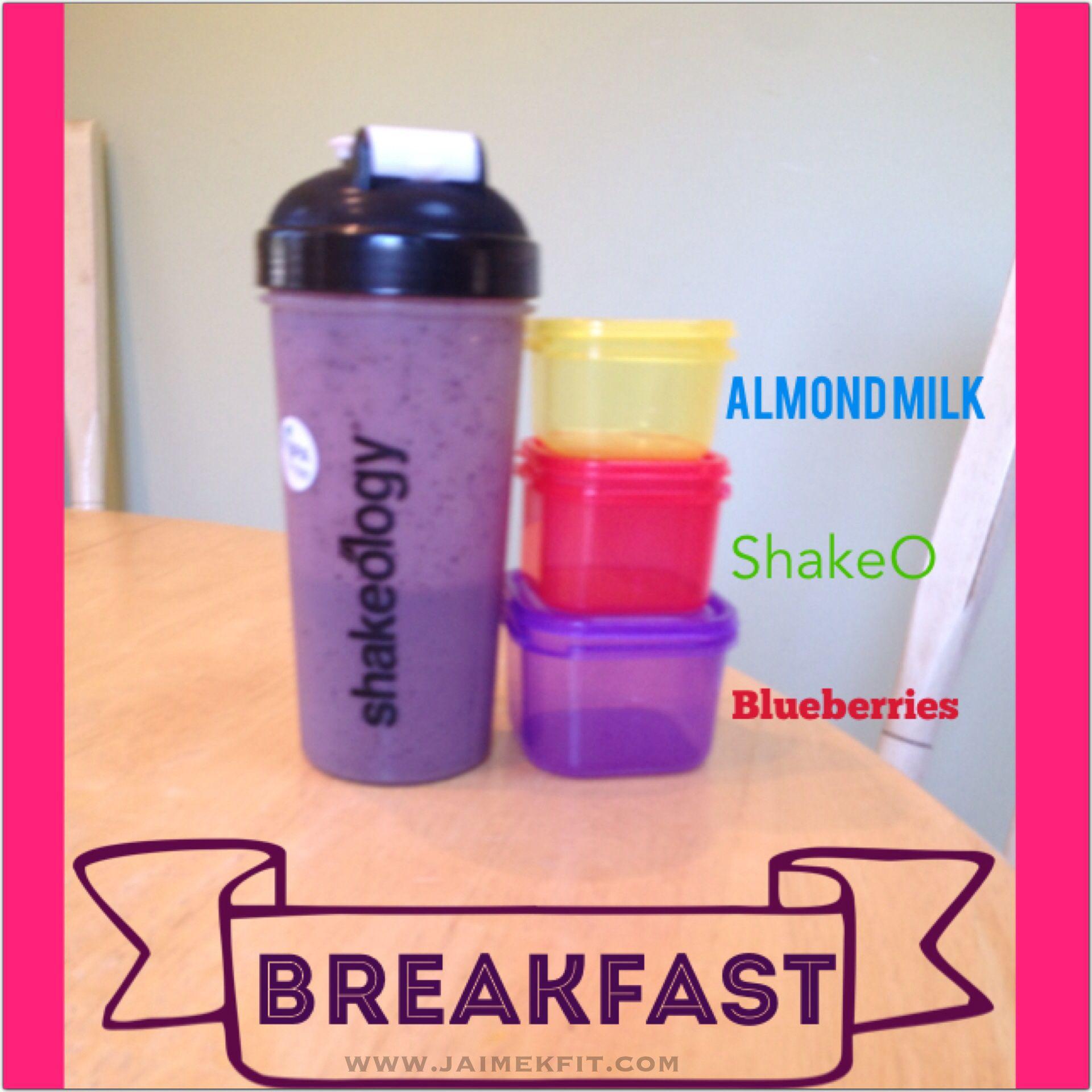 Meal Planning - Shakeology - Vanilla - 21 Day Fix