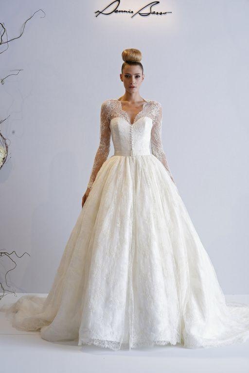 KleinfeldBridal.com: Dennis Basso: Bridal Gown: 33011644: Princess ...