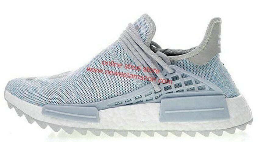 7e3c97d16 Cheap Authentic Shoe Websites Adidas Pw Human Race NMD Tr Billionaire Boys  Club Ac7358 Blue Grey