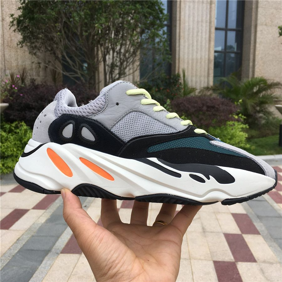 2ce9411457e28 Yeezy Wave Runner 700 Solid Grey B75571
