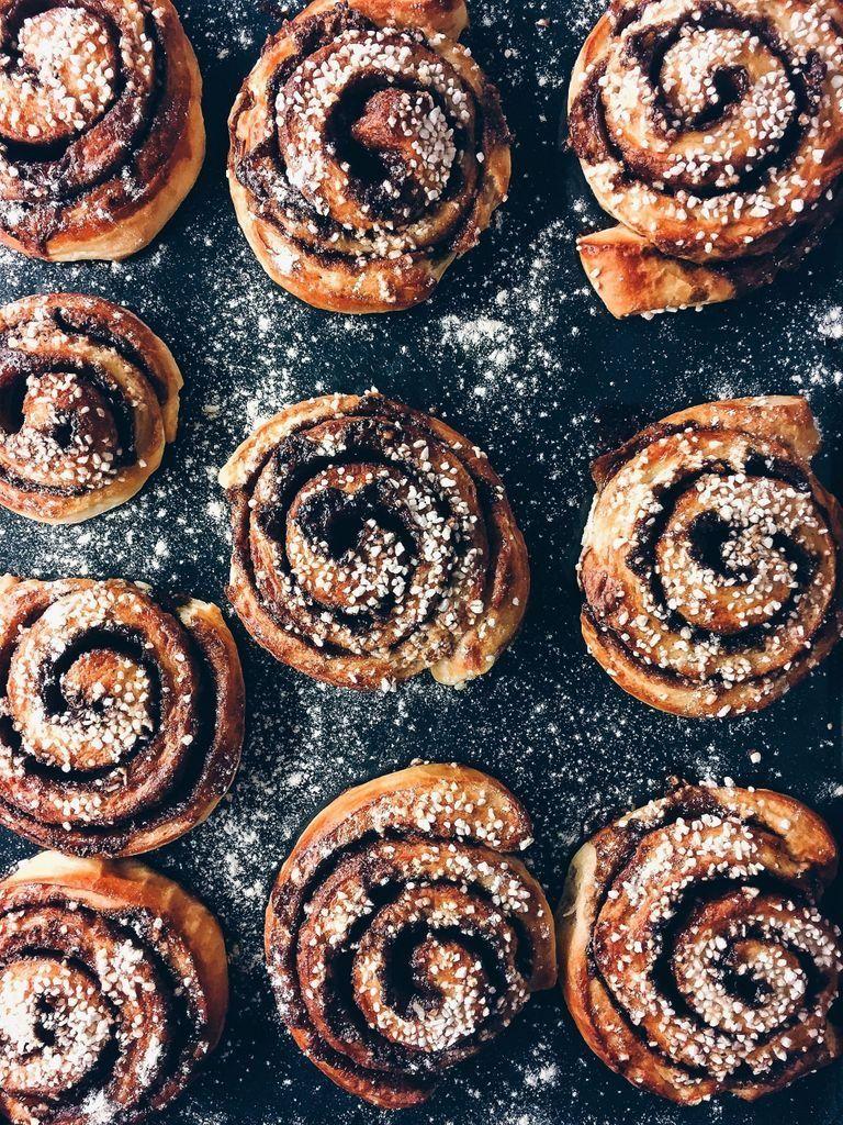 Cinnamon and cardamom buns #cardamombuns