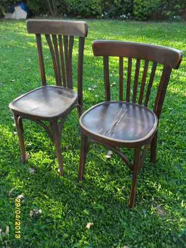 Antigua Sillas Tipo Thonet, Butaca De Bar $ 230 Cu $ 230