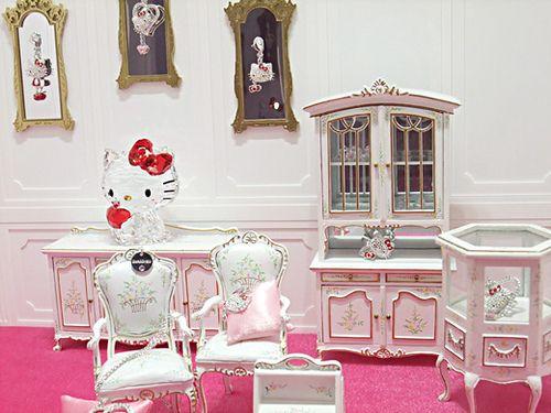 Hello Kitty Dining Room <3