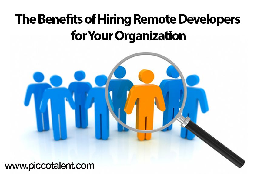 The benefits of hiring remote developers for your