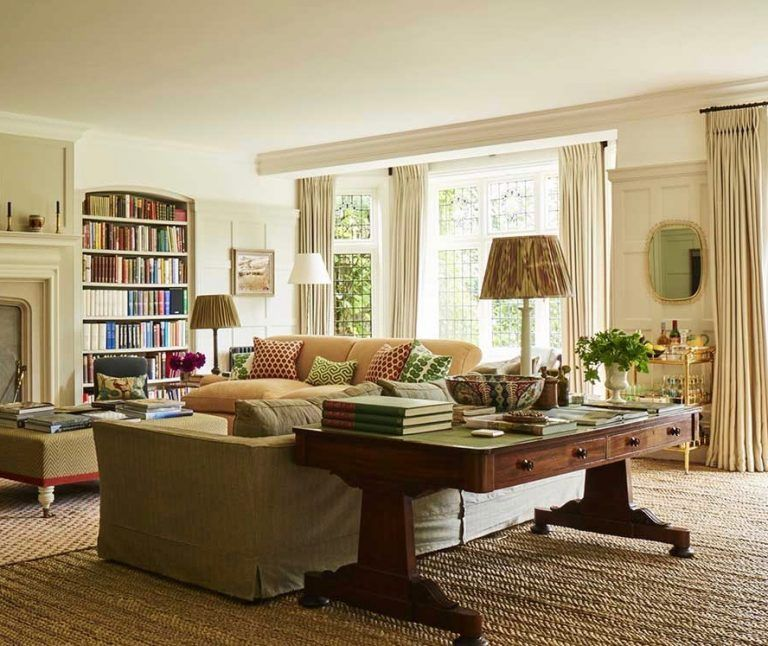 An Arts Crafts Home By Ben Pentreath Traditional Living Room