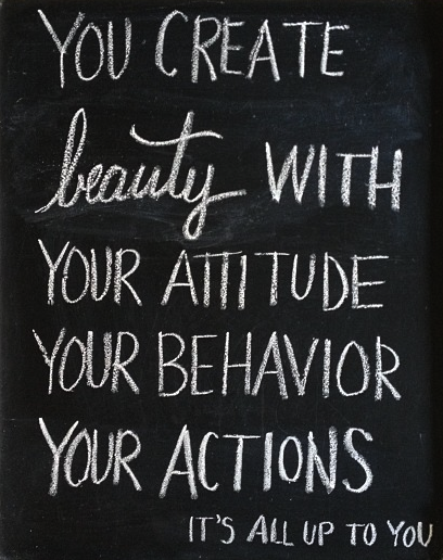 Beauty It S All Up To You Word Quotes Words Beauty Quotes