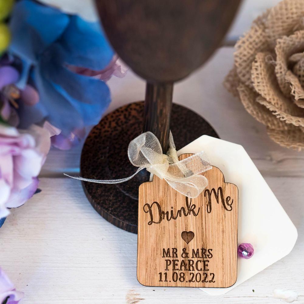 Drink Me Wedding Favours Unique Wedding Ideas On A Budget