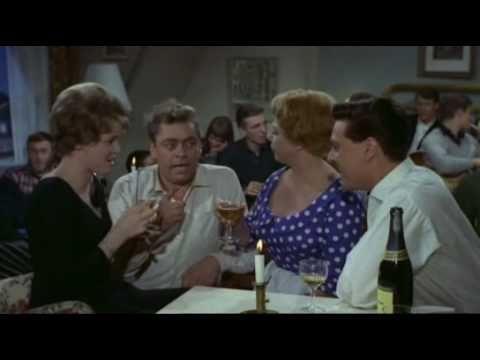 Dario og Gitte. En sang om kærlighed og aldrig har jeg været så forelsket. Film. Han, hun, Dirch og Dario. 1962.