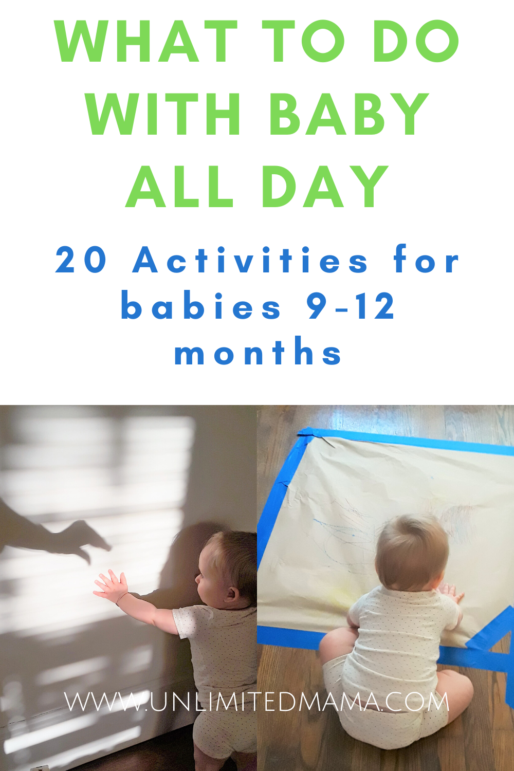 Fun And Easy Baby Activities For 9 12 Months Old Babies In 2020 Infant Activities 10 Month Old Baby Activities Baby Play Activities