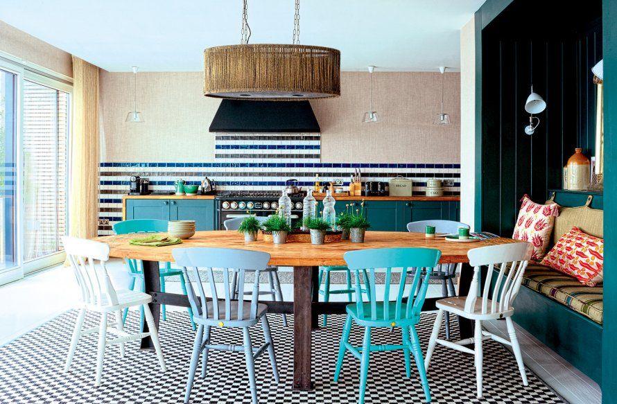 Cuisine ouverte sans bar Cuisine   salle à manger Pinterest - idee bar cuisine ouverte