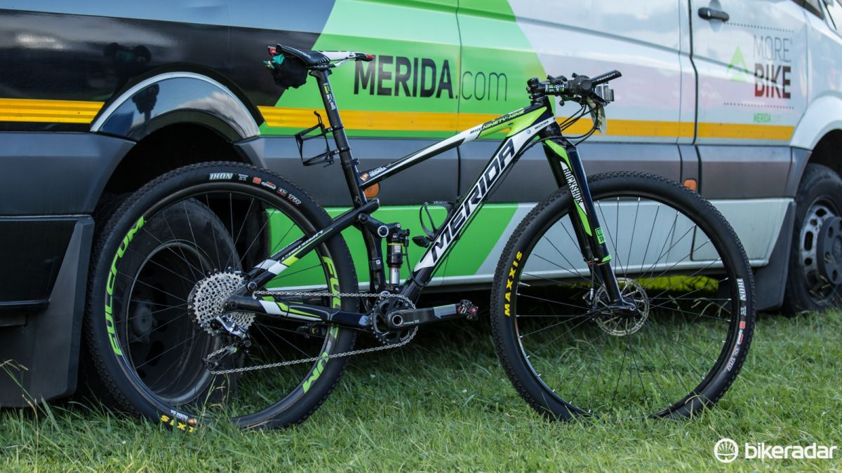 Merida - Jose Hermida bike