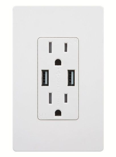 Robot Check Usb Charger Outlet Usb Wall Charger Plates On Wall