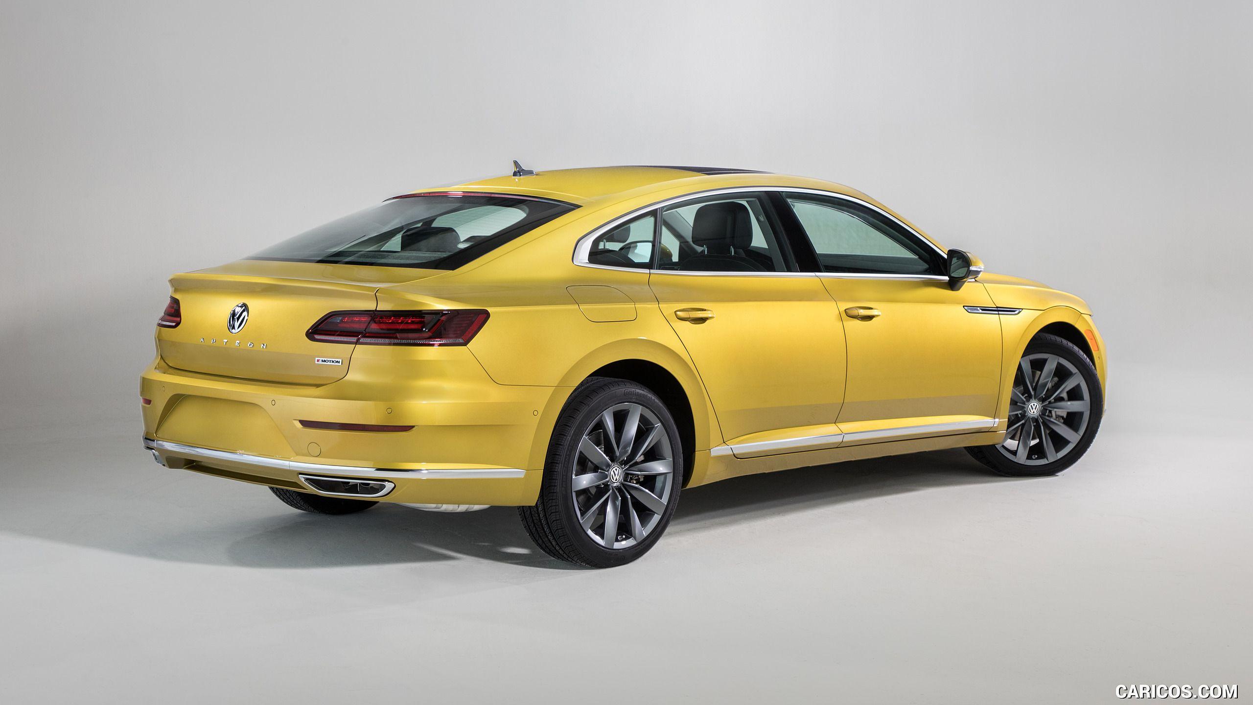 VW Arteon Usa >> 2019 Volkswagen Arteon Us Spec Rear Three Quarter Hd