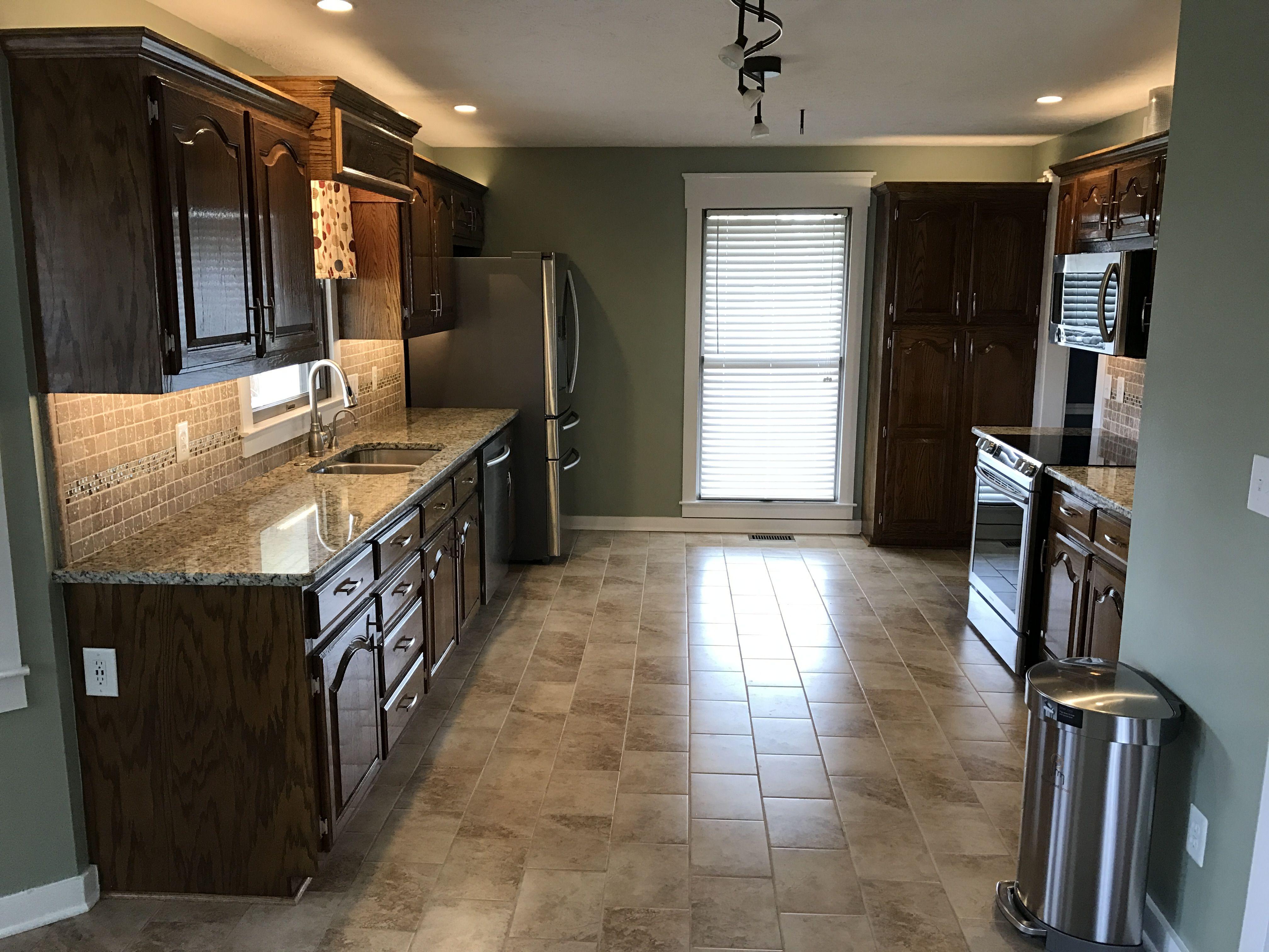 remodel of an 80's galley kitchen  galley kitchen