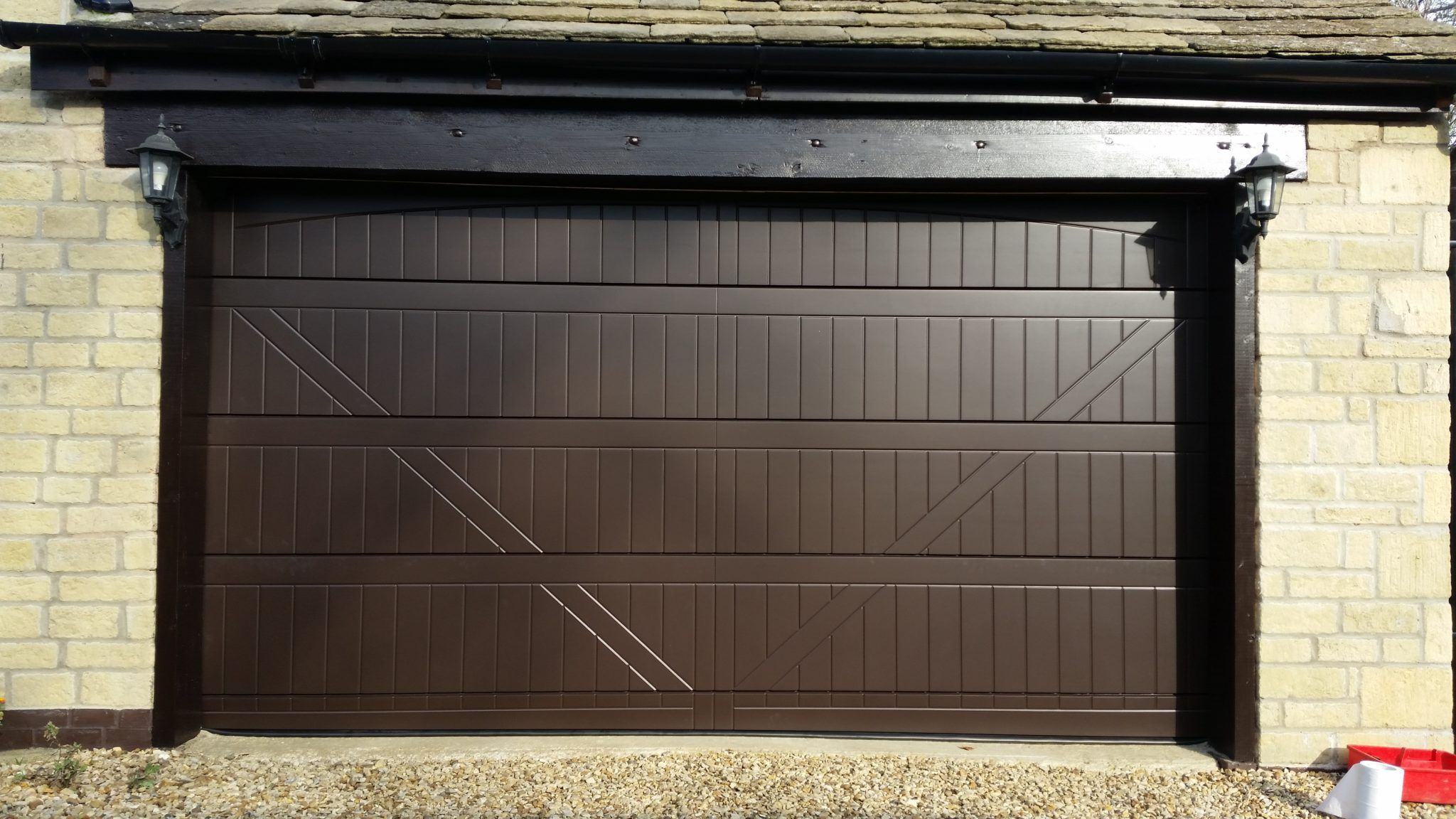 Garage Doors With A Personal Touch Custom Made Garage Doors Side