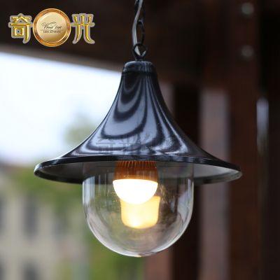 Classical Europe Style Pergola Hanging Lamp Outdoor Pendant Lamp