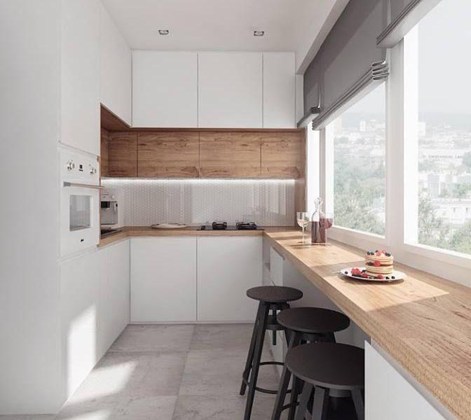 Kuchnia W Bloku Kuchnia I Jadalnia Scandinavian Kitchen Design Modern Kitchen Design Kitchen Design Small