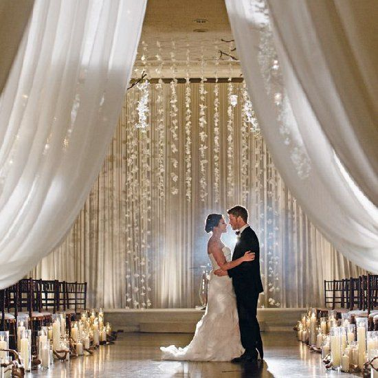 Indoor Wedding Themes: Style The Aisle With These 15 Dreamy Ideas For Indoor