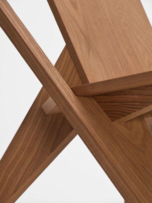 Medici Chair By Konstantin Grcic Modern Wood Chair Modern Wooden Chair Wood Chair