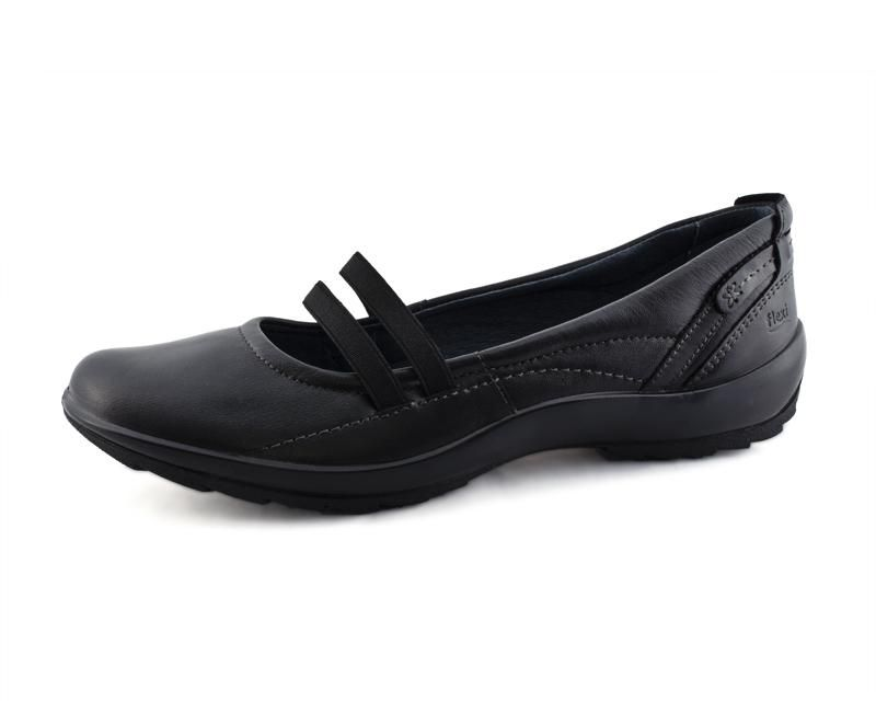 Zapatos Flexi Negros 8288372 Coppel En 2019 Zapatos