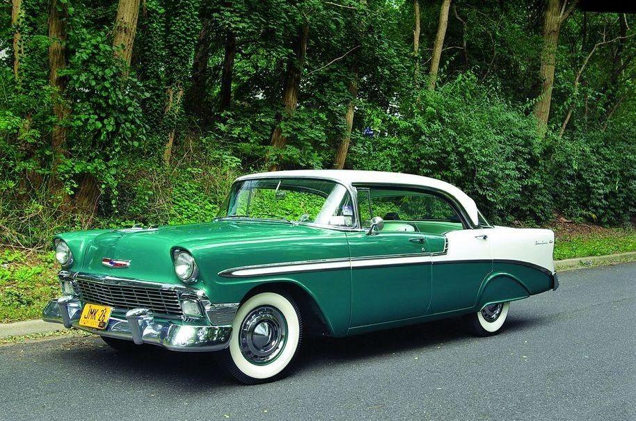 1956 Chevy Bel Air Sport Sedan Chevrolet Bel Air Classic Car Restoration Classic Cars Trucks