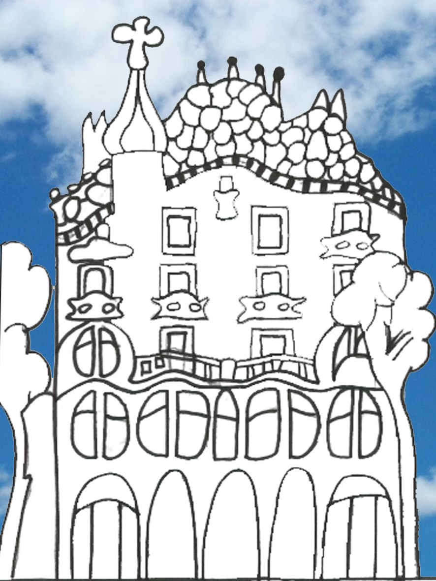 children u0027s gaudi drawings google search gaudi pinterest