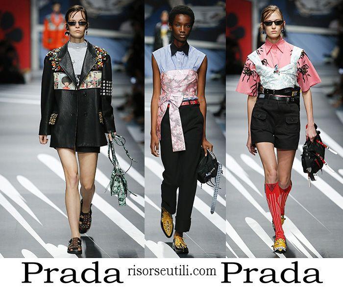 15e3c6df1111 Clothing Prada spring summer 2018 brand for women. | Apparel For ...
